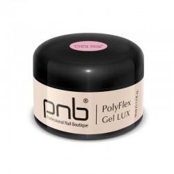 УВ/ЛЕД Поли гел PNB Лукс, прозрачно-розов 50 мл/ UV/LED PolyFlex Gel LUX, Cool Pink 50 ml