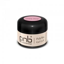 УВ/ЛЕД Поли гел PNB Лукс, прозрачно-розов 5 мл/ UV/LED PolyFlex Gel LUX, Cool Pink 5 ml