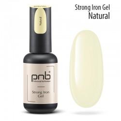 УВ/ЛЕД гел за моделиране PNB, натурален 8 мл / UV/LED Sculpting Strong Iron Gel Natural PNB 8 ml