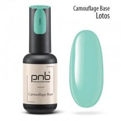УВ/ЛЕД Камуфлажна каучукова основа PNB Лотус, мента 8 мл / UV/LED Camouflage Base PNB Lotus, mint